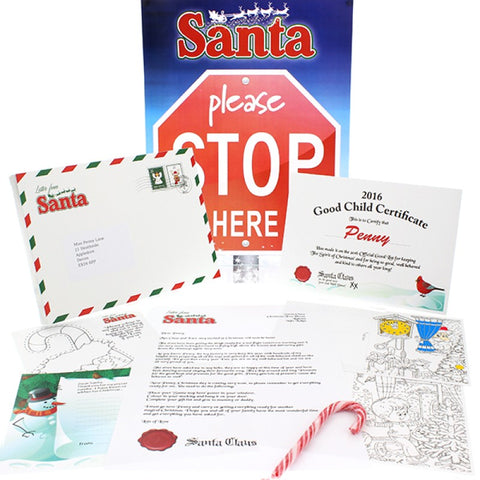 Personalised Letter From Santa Gift Box