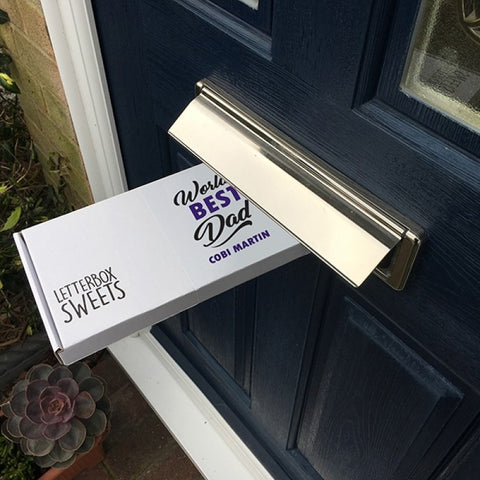 WORLDS BEST DAD - Letterbox Sweets