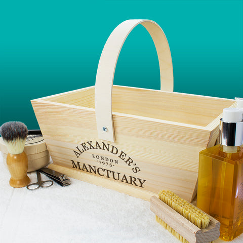 Personalised Manctuary Trug