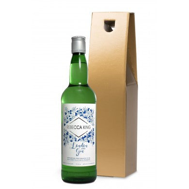 Modern Gin in a Gold Gift Box