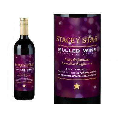 Modern Personalised Mulled Wine | ShaneToddGifts.co.uk