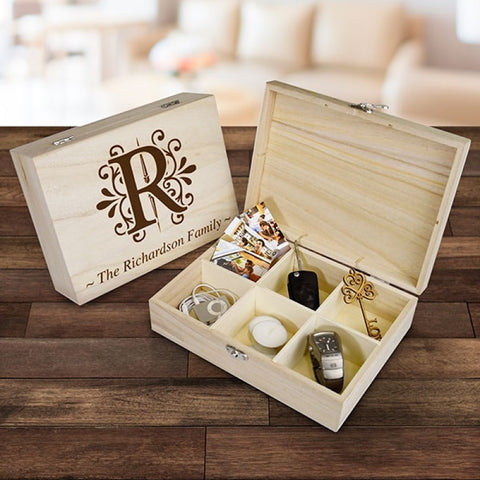Monogram Keepsake Box