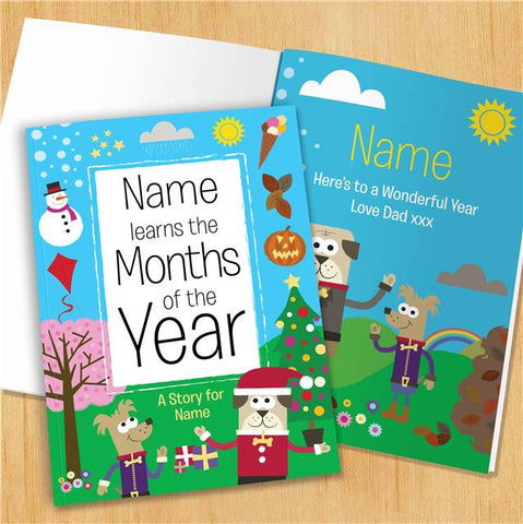 Months of the Year - Hardback | ShaneToddGifts.co.uk