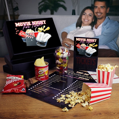 Valentines Gifts Movie Night for 2