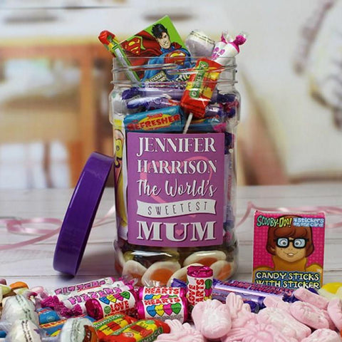 Mums Retro Sweet Jar
