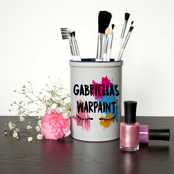 My Warpaint Personalised Make Up Brush Holder