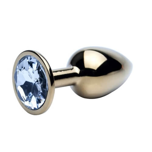 Precious Metals Gold Butt Plug-Small, Mature by Low Cost Gifts