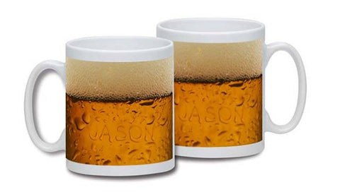 Personalised Beer Dad Mug