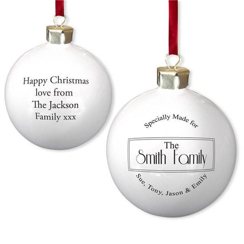 Specially Made For Bauble - Shane Todd Gifts UK