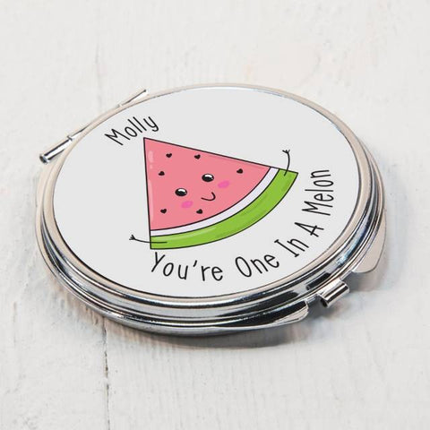 One In A Melon Compact Mirror | ShaneToddGifts.co.uk