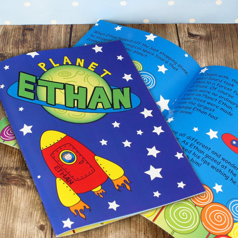 Buy Personalised Space Story Book
