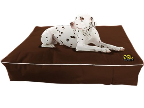 Dog Doza - Waterproof Memory Foam Crumb Duvet Beds Various Sizes Brown, Dog Supplies by Low Cost Gifts