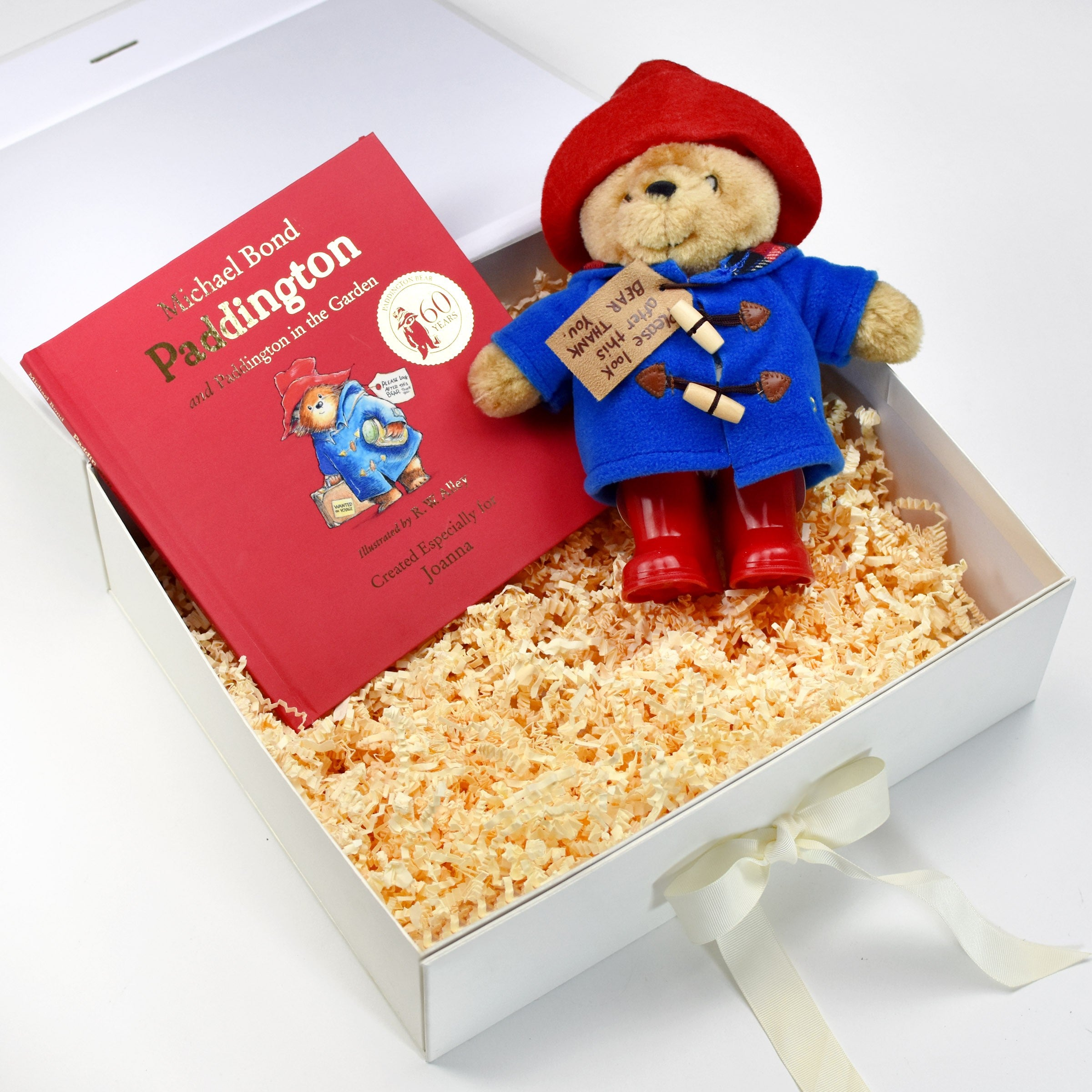 Personalised Paddington Personalised Story Book and Plush Toy Giftset, Media by Low Cost Gifts