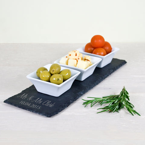 Personalised Meze Serving Platter - Shane Todd Gifts UK