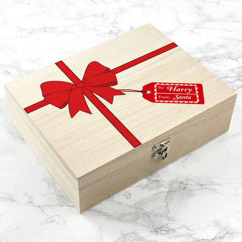 Personalised All Wrapped Up Christmas Eve Box - Small