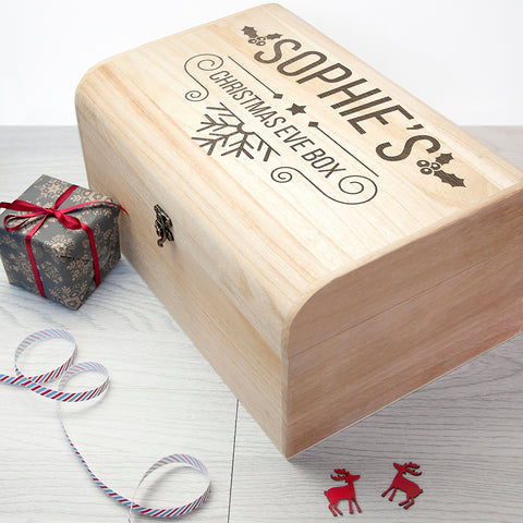 Personalised Christmas Eve Chest - Large - Shane Todd Gifts UK