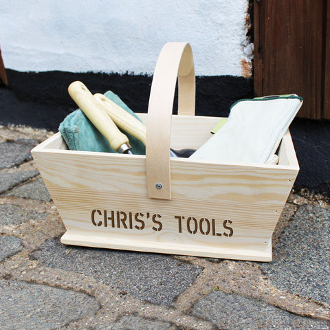 Personalised Gardeners Trug - Shane Todd Gifts UK