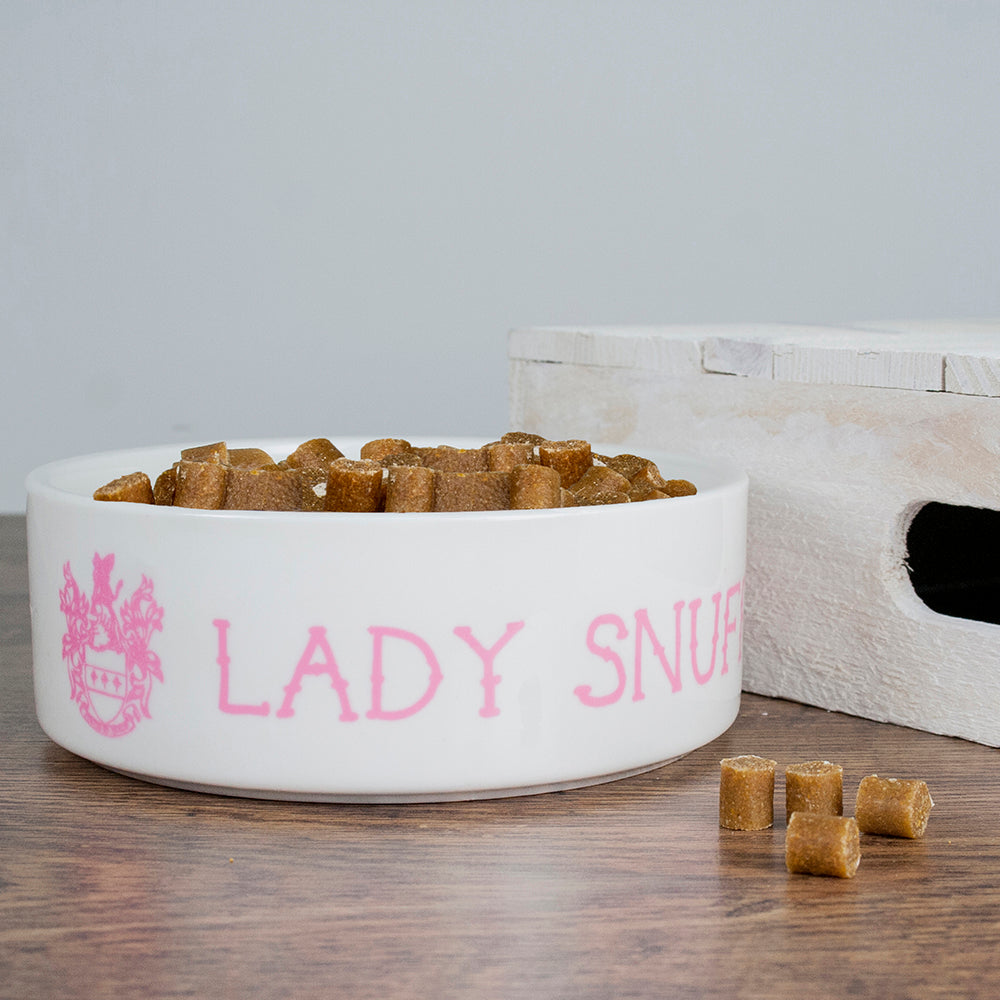 Personalised Lady Cat Bowl, Pet Bowls, Feeders & Waterers by Low Cost Gifts