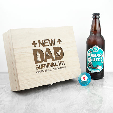 Personalised New Dad Survival Kit