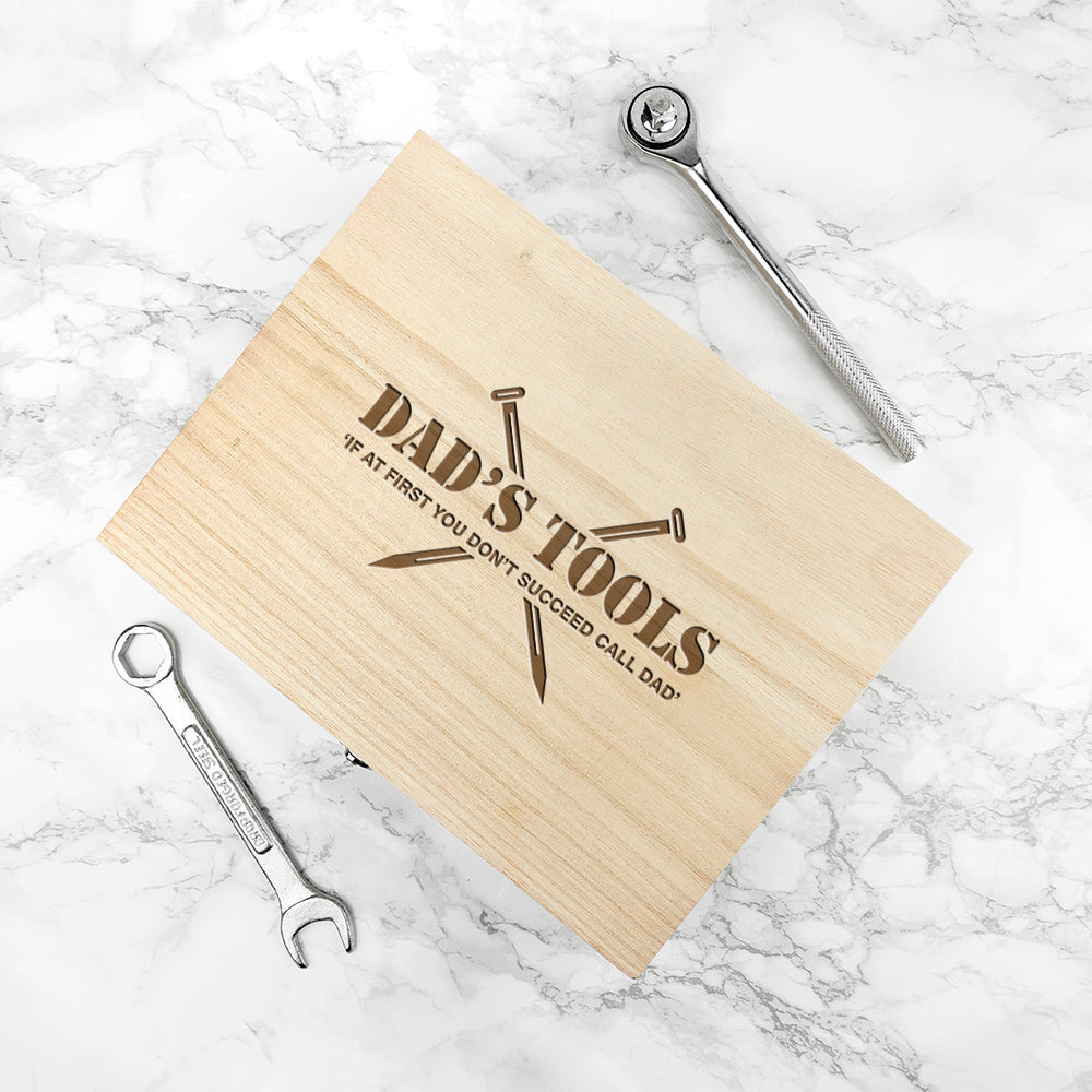 Personalised Saves The Day Tool Box, Gift Giving by Gifts24-7
