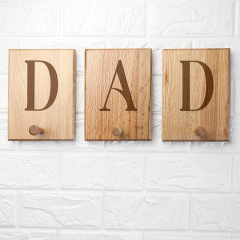 Personalised Wooden Peg Hook - Shane Todd Gifts UK