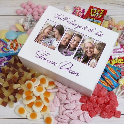 MUM Photo Gift - Deluxe Sweet Box - white