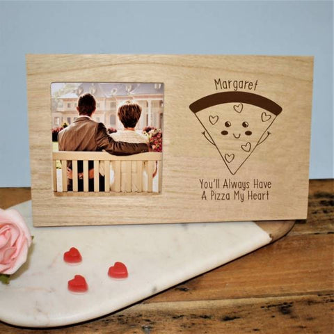 Pizza My Heart Panel Photo Frame
