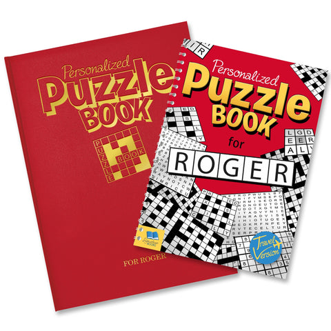 Personalised Puzzle Book - Shane Todd Gifts UK