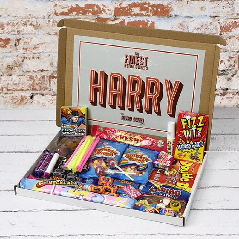 Retro Sweet Mail Order Box, Sweets & Chocolate - Image 0