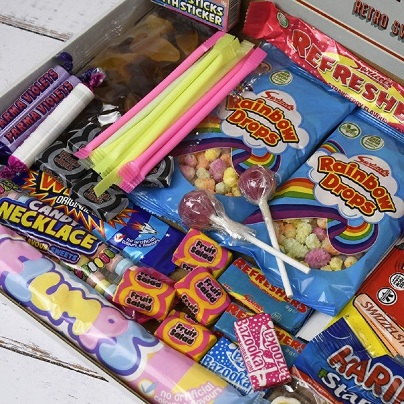 Retro Sweet Mail Order Box, Sweets & Chocolate - Image 1