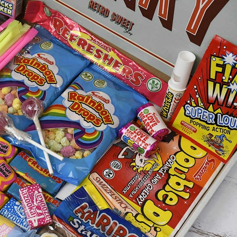 Retro Sweet Mail Order Box, Sweets & Chocolate - Image 2
