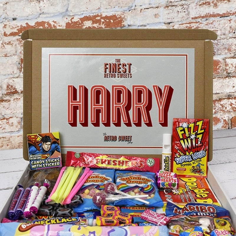 Retro Sweet Mail Order Box, Sweets & Chocolate - Image 3