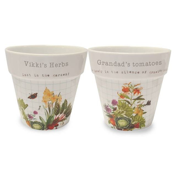 Official Royal Horticultural Society Planters | ShaneToddGifts.co.uk