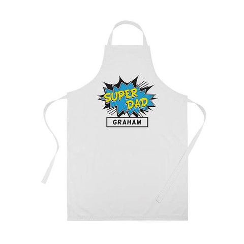 Super...Apron Blue | ShaneToddGifts.co.uk