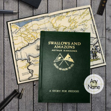 Arthur Ransome's Novel Swallows and Amazons Personalised - Shane Todd Gifts UK