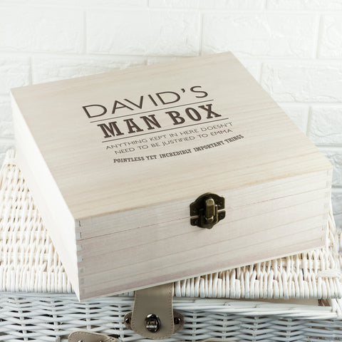 Personalised The Ultimate Man Box