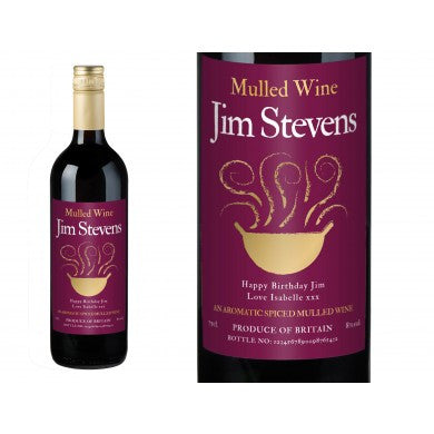 Traditional Personalised Mulled Wine | ShaneToddGifts.co.uk