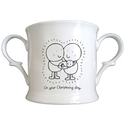 Chilli & Bubble's Christening Loving Cup | ShaneToddGifts.co.uk