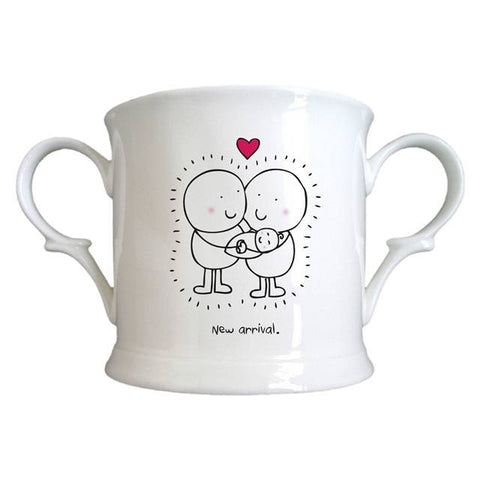 Chilli & Bubble's New Baby Loving Cup | ShaneToddGifts.co.uk