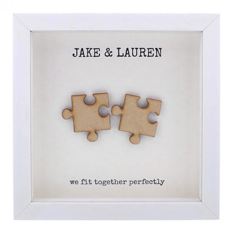 Personalised hand finished - 'We Fit Together'