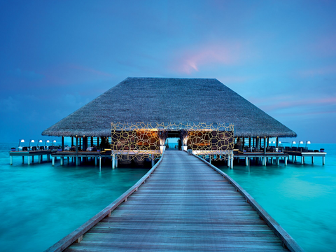 Aragu Restaurant, Maldives