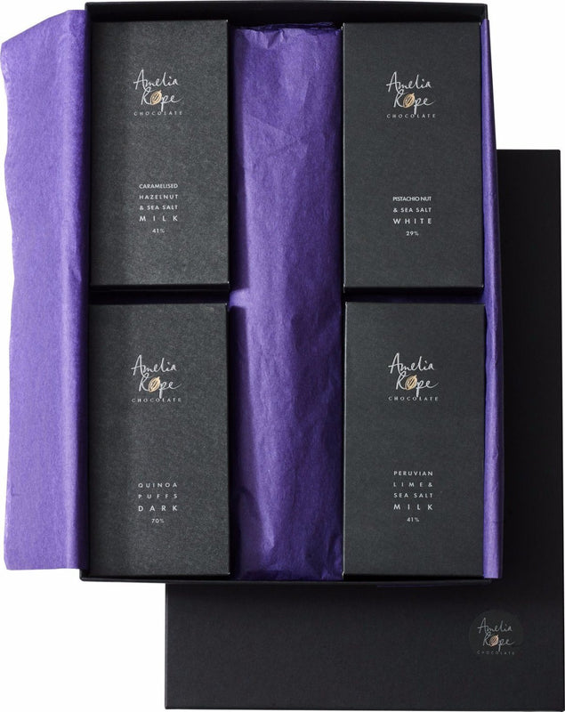 Amelia Rope Chocolate - Luxury Colombian Chocolate Bars