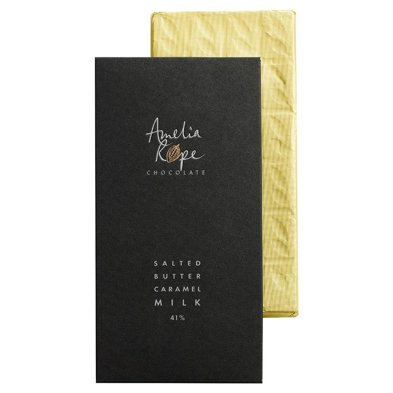 Amelia Rope Chocolate Salted Butter Caramel Bar