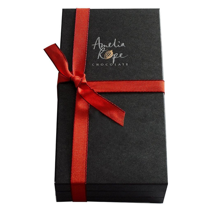 Amelia Rope Chocolate - Luxury Colombian Chocolate Bars - 3 Bar Gift Set