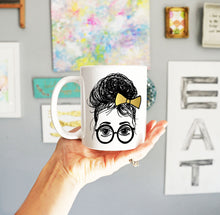 Ashley Coffee Mug, Girls in Glasses
