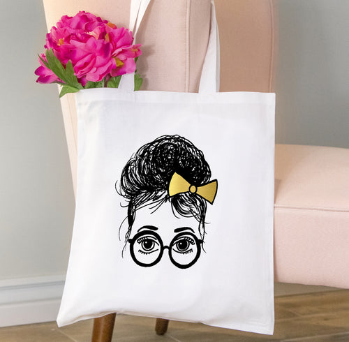 Ashley Tote Bag, Girls in Glasses