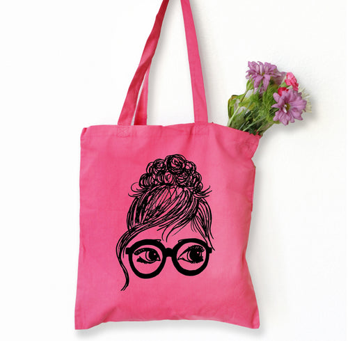 Bridgette Tote Bag, Girls in Glasses