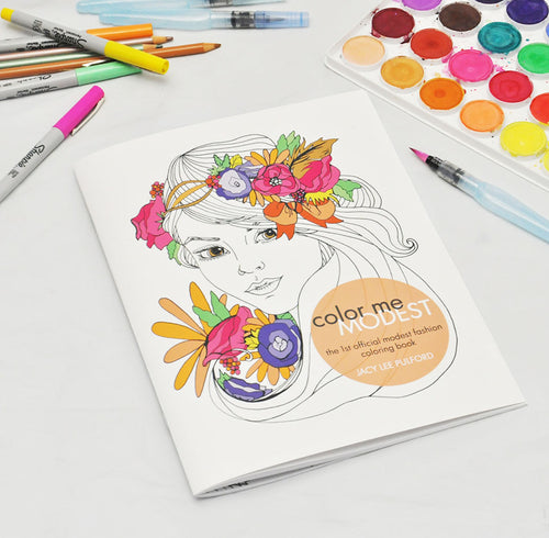 ColorMe Modest Coloring Book