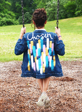 Chosen Painted Denim Jacket, FREE SHIPPING
