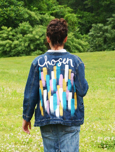Chosen, Painted Denim Jacket